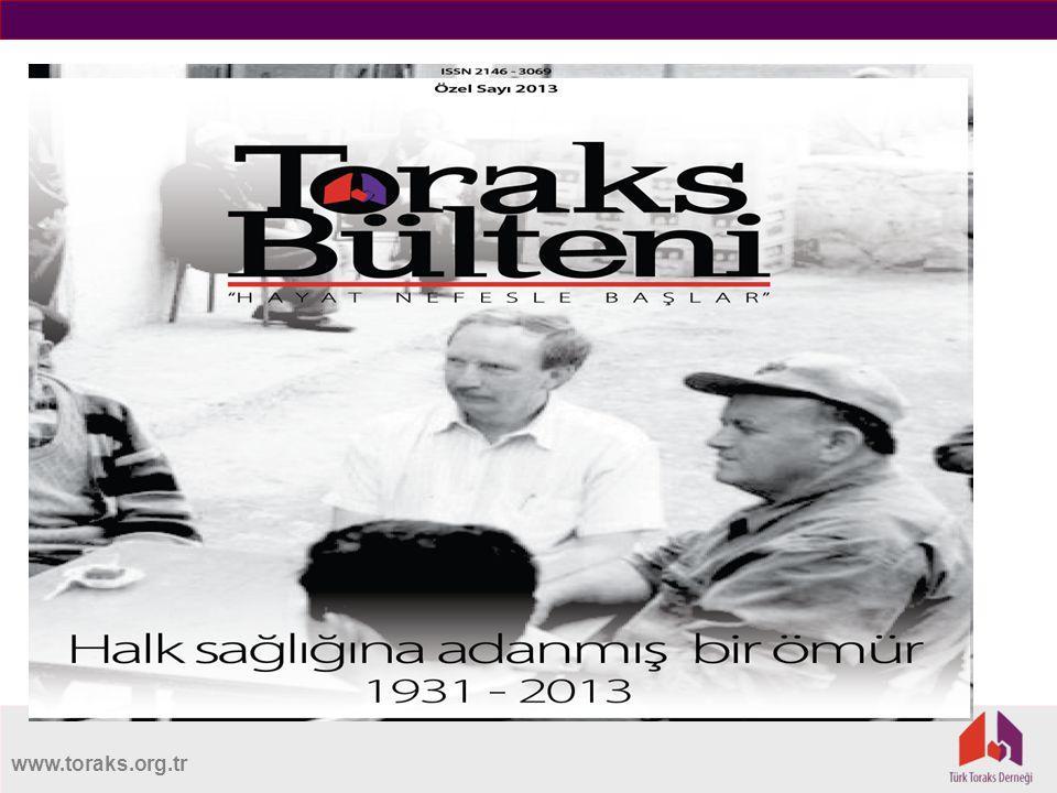 TORAKS BÜLTENİ - ÖZEL SAYI 2013 TORAKS BÜLTENİ - ÖZEL SAYI 2013