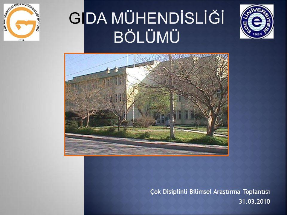Çok Disiplinli Bilimsel Araştırma Toplantısı 31.03.2010