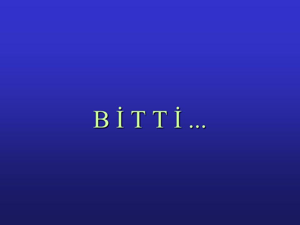 B İ T T İ ...