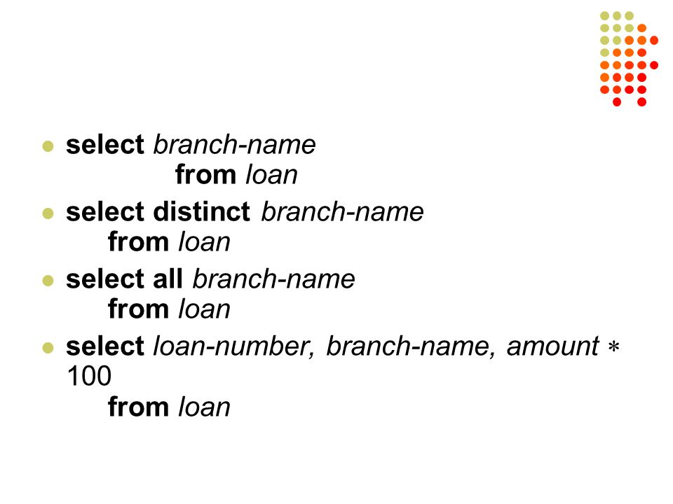 select branch-name from loan