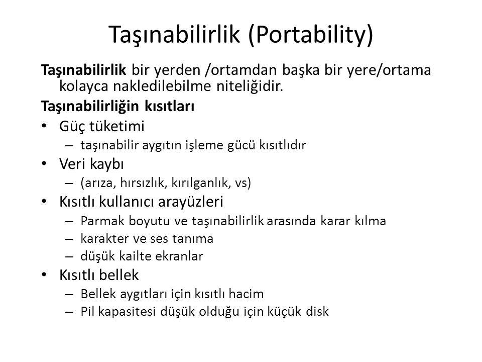 Taşınabilirlik (Portability)