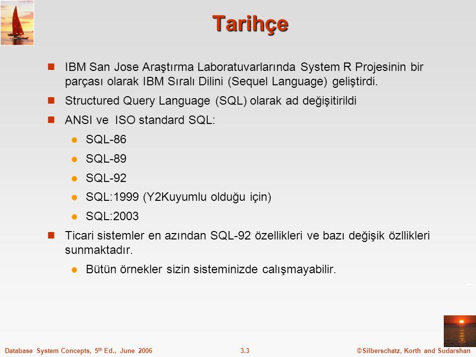 Tarihçe IBM San Jose Araştırma Laboratuvarlarında System R Projesinin bir parçası olarak IBM Sıralı Dilini (Sequel Language) geliştirdi.