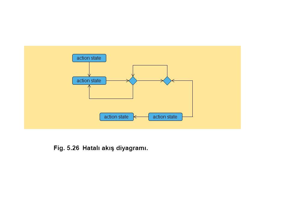 Fig. 5.26 Hatalı akış diyagramı.