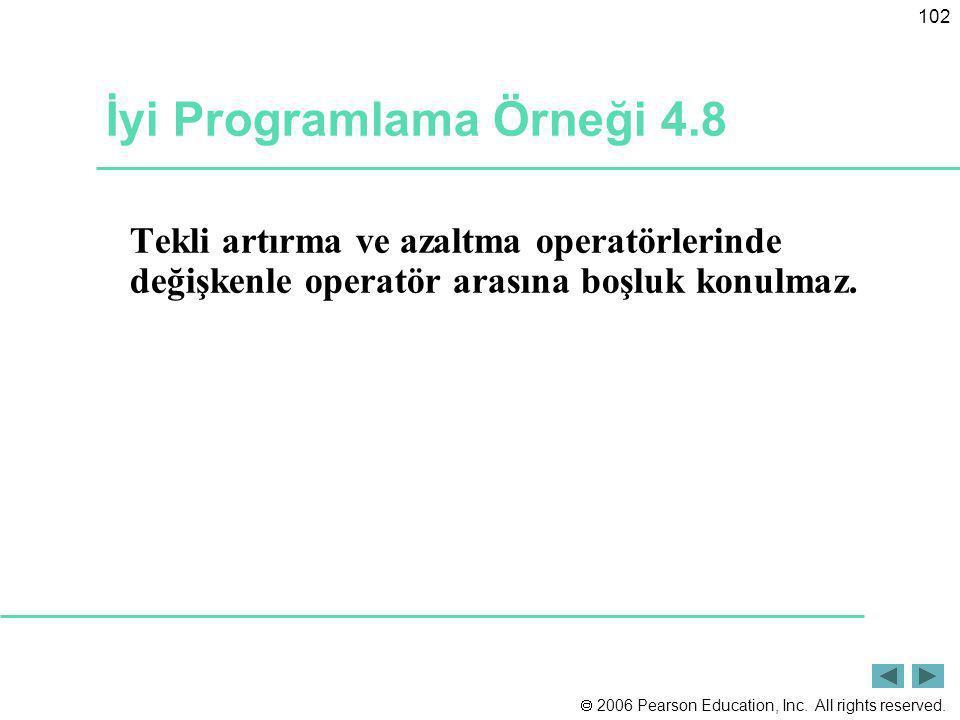 İyi Programlama Örneği 4.8