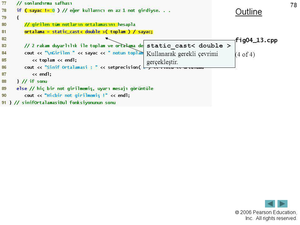 Outline static_cast< double > (4 of 4)