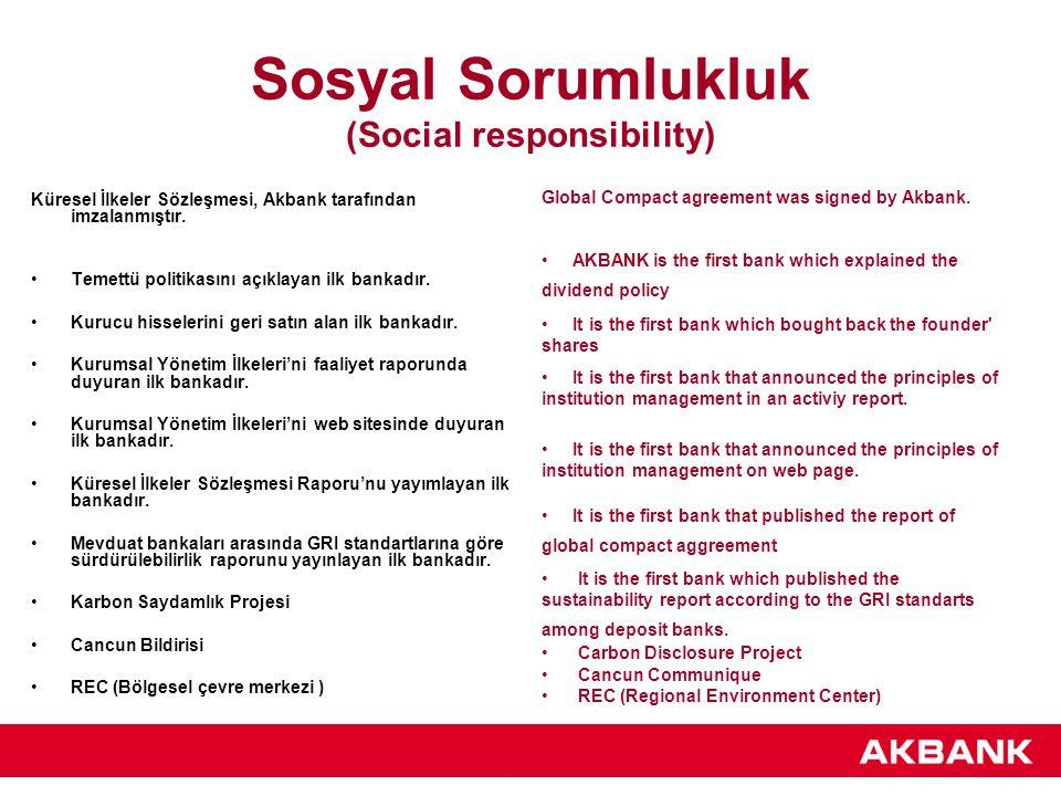 Sosyal Sorumlukluk (Social responsibility)