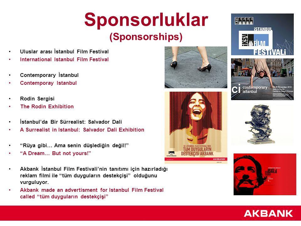 Sponsorluklar (Sponsorships)