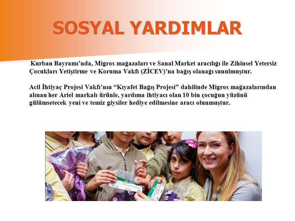 SOSYAL YARDIMLAR