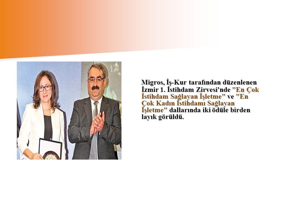 Migros, İş-Kur tarafından düzenlenen İzmir 1