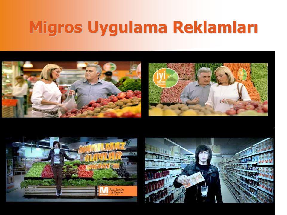 Migros Uygulama Reklamları