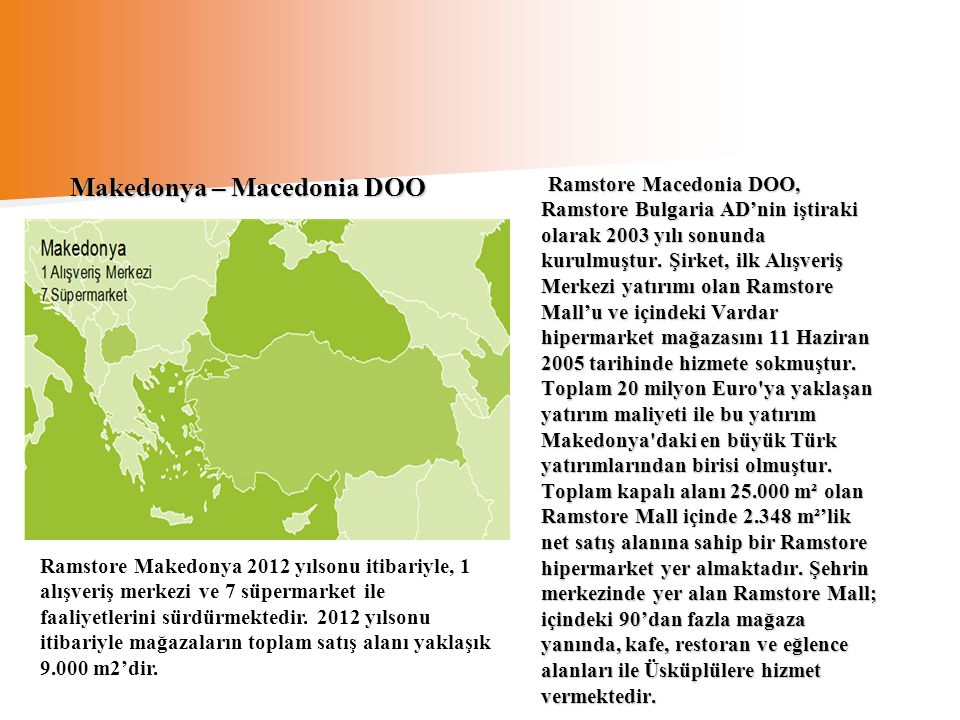 Makedonya – Macedonia DOO