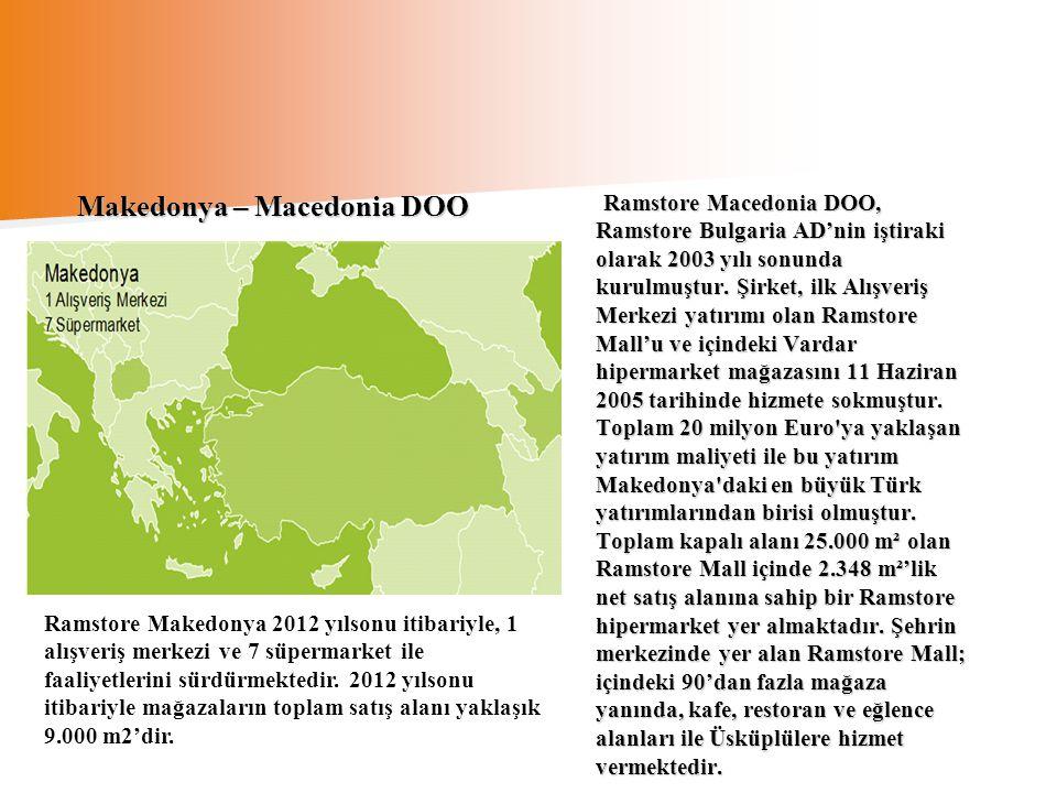 Makedonya – Macedonia DOO
