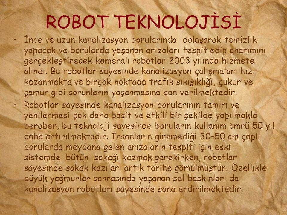 ROBOT TEKNOLOJİSİ