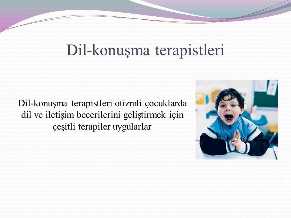 Dil-konuşma terapistleri