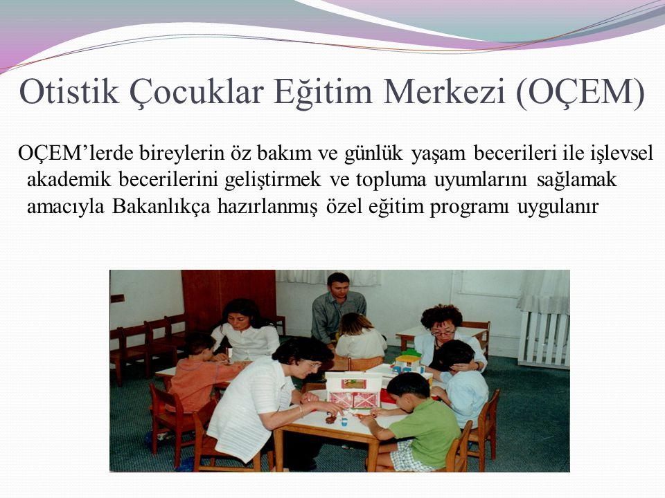 Otistik Çocuklar Eğitim Merkezi (OÇEM)