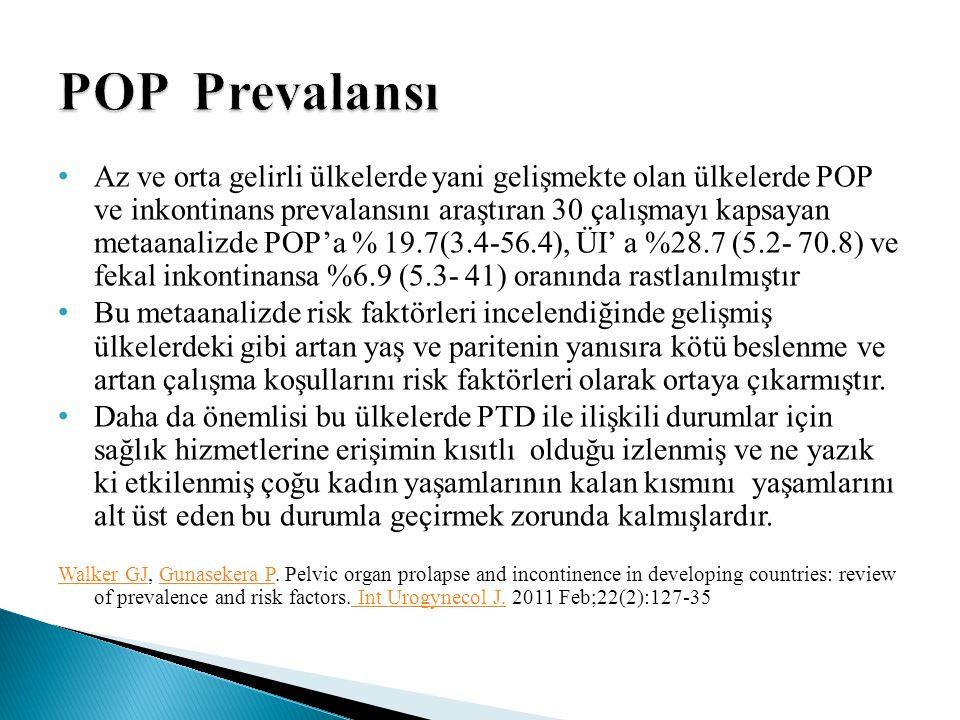 POP Prevalansı