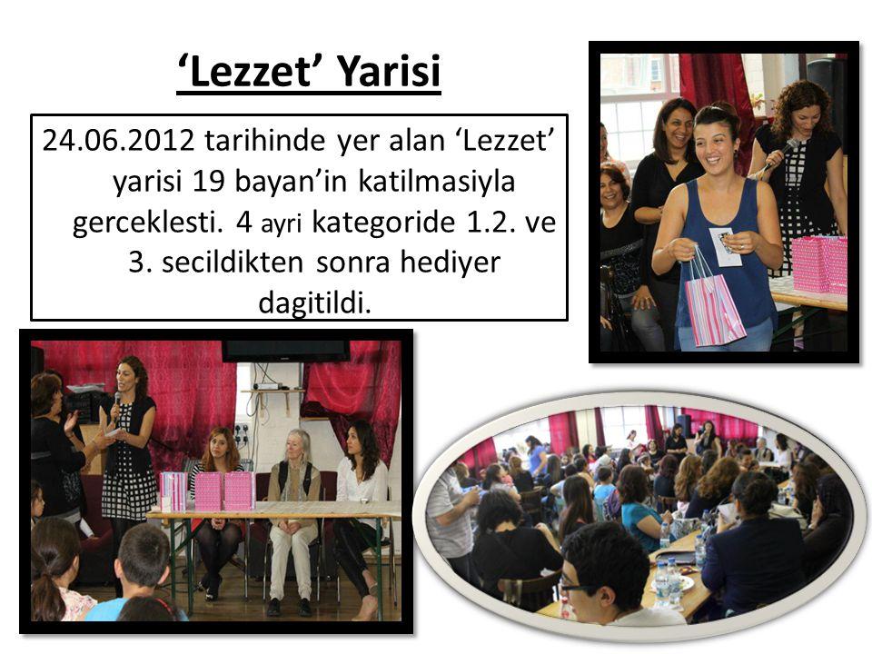 'Lezzet' Yarisi