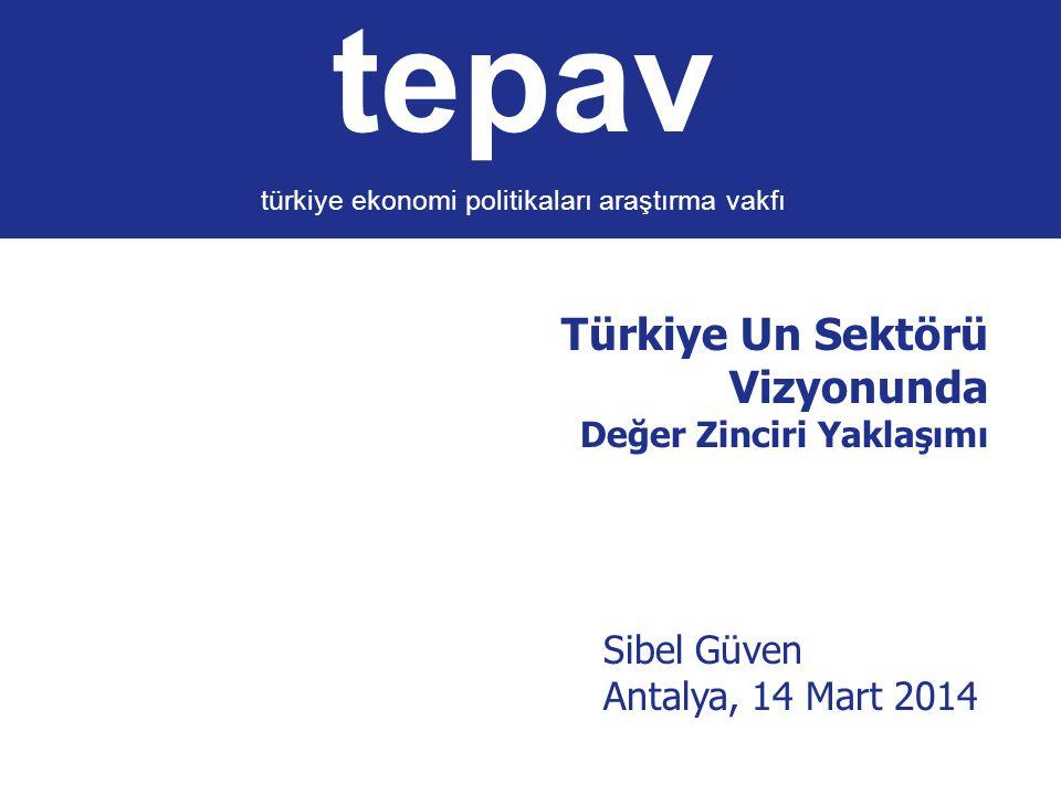 Türkiye Un Sektörü Vizyonunda Değer Zinciri Yaklaşımı