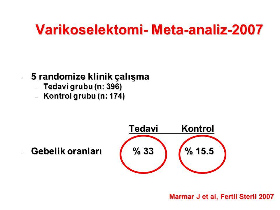Varikoselektomi- Meta-analiz-2007