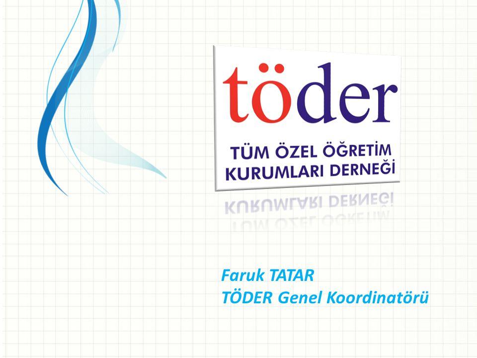 Faruk TATAR TÖDER Genel Koordinatörü