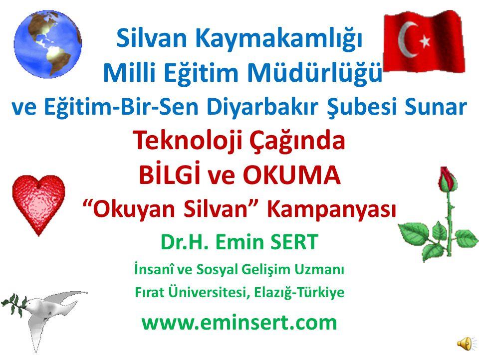 İnsanî ve Sosyal Gelişim Uzmanı Fırat Üniversitesi, Elazığ-Türkiye