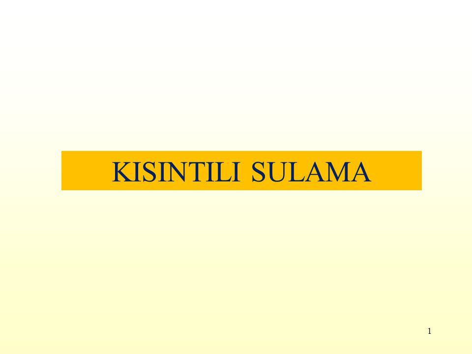 KISINTILI SULAMA 1