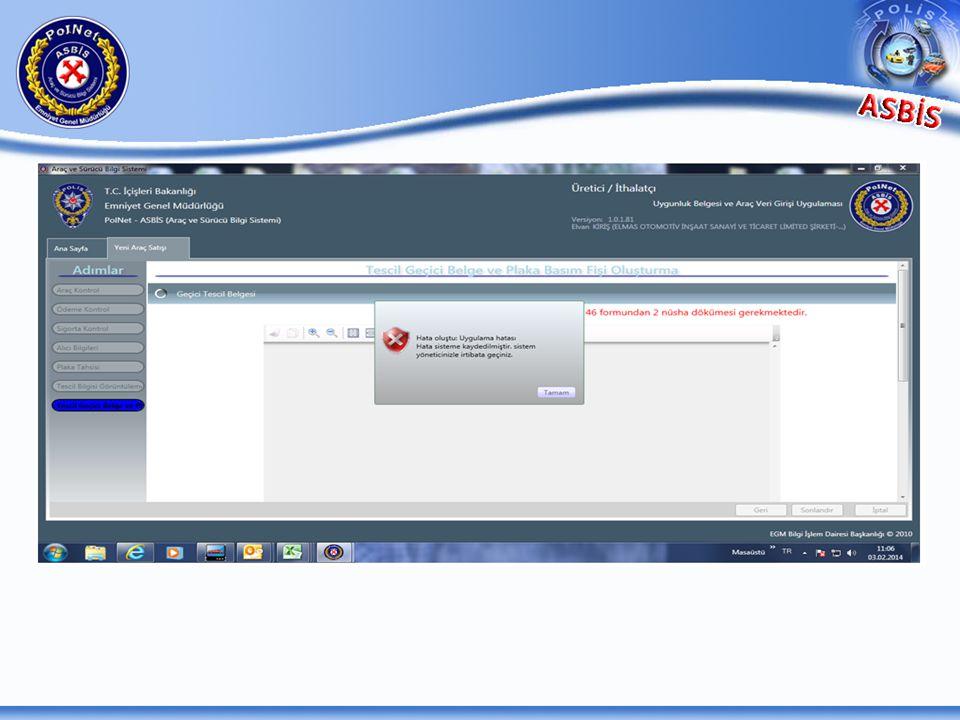 XPS Document Writer dan kaynaklı bir hata mesajıdır