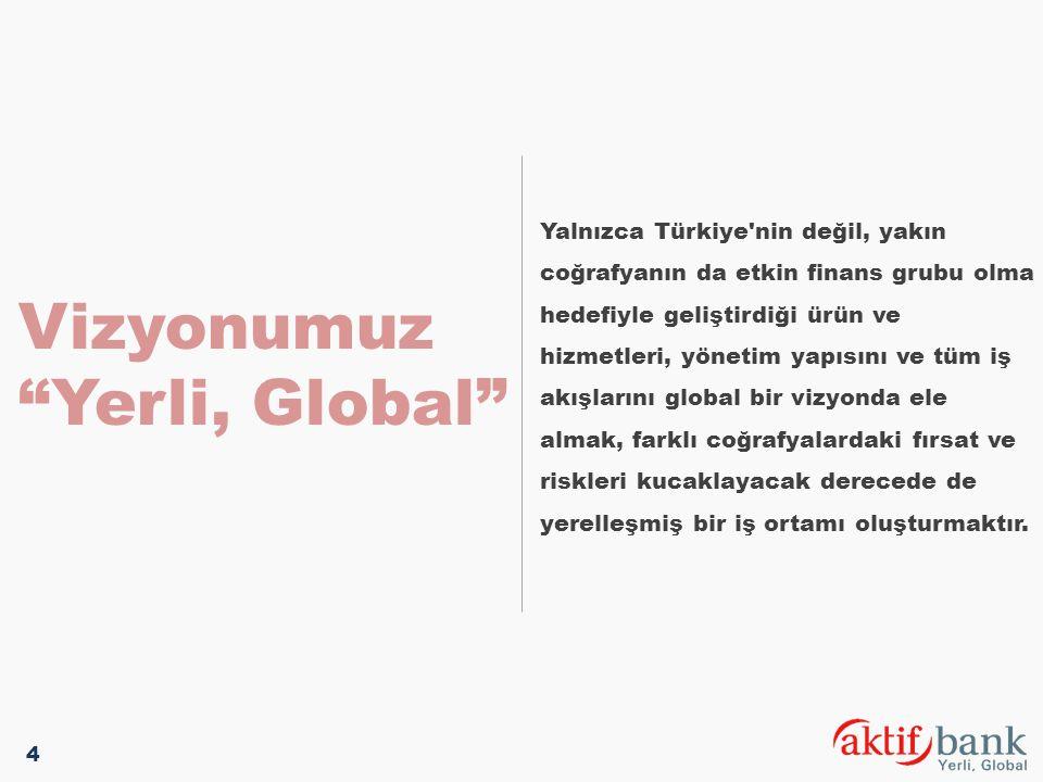 Vizyonumuz Yerli, Global
