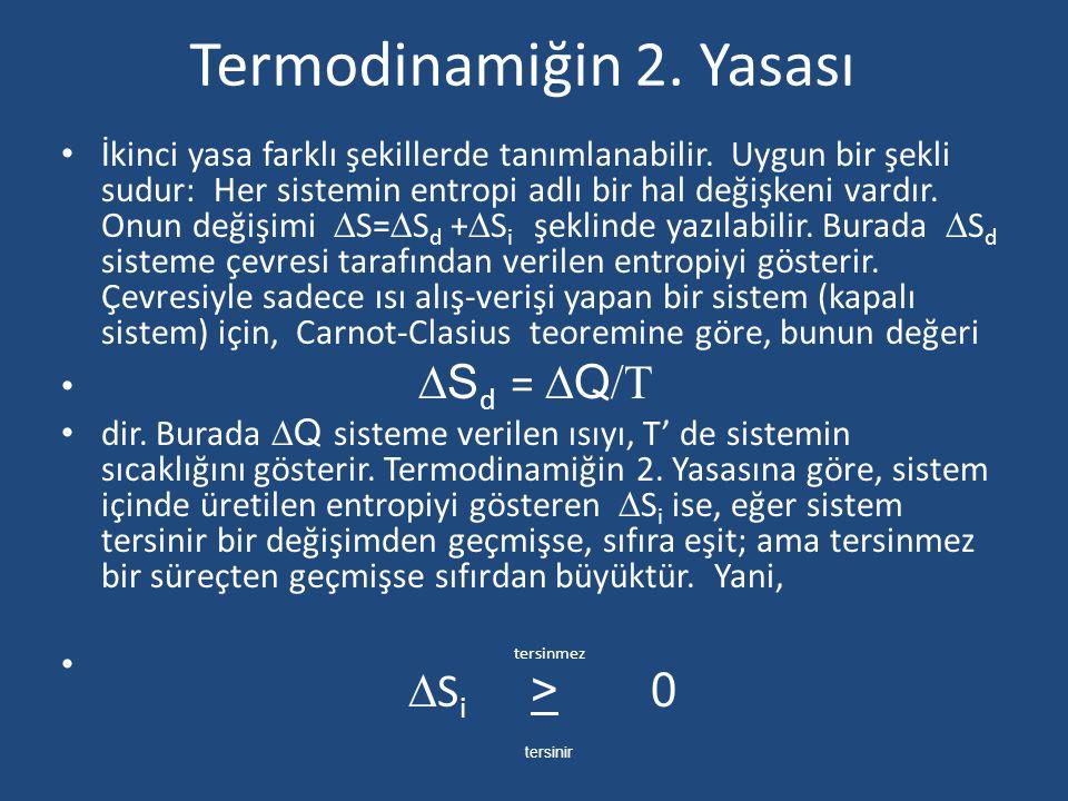 Termodinamiğin 2. Yasası