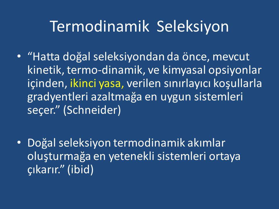 Termodinamik Seleksiyon