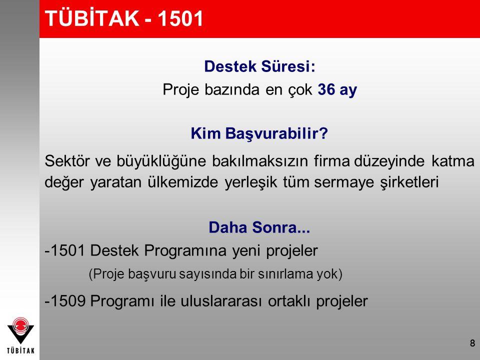 TÜBİTAK - 1501