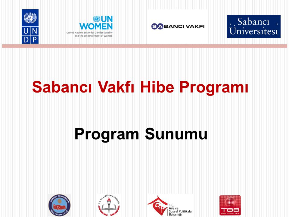 Sabancı Vakfı Hibe Programı