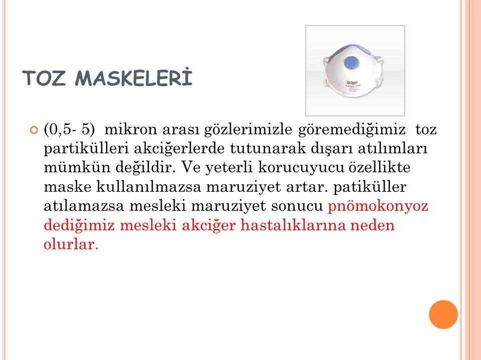 TOZ MASKELERİ