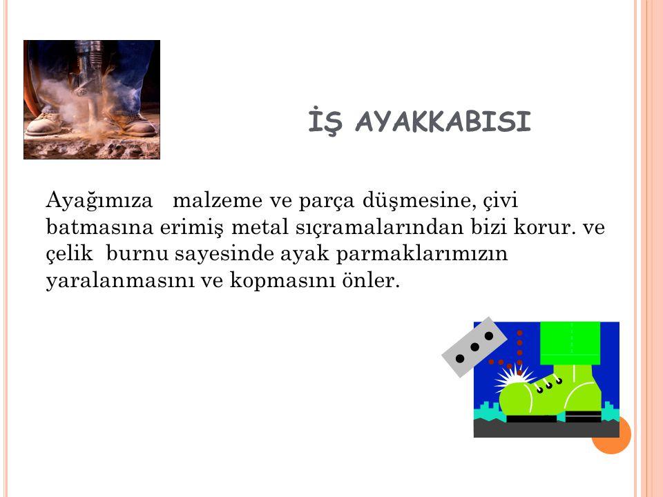 İŞ AYAKKABISI
