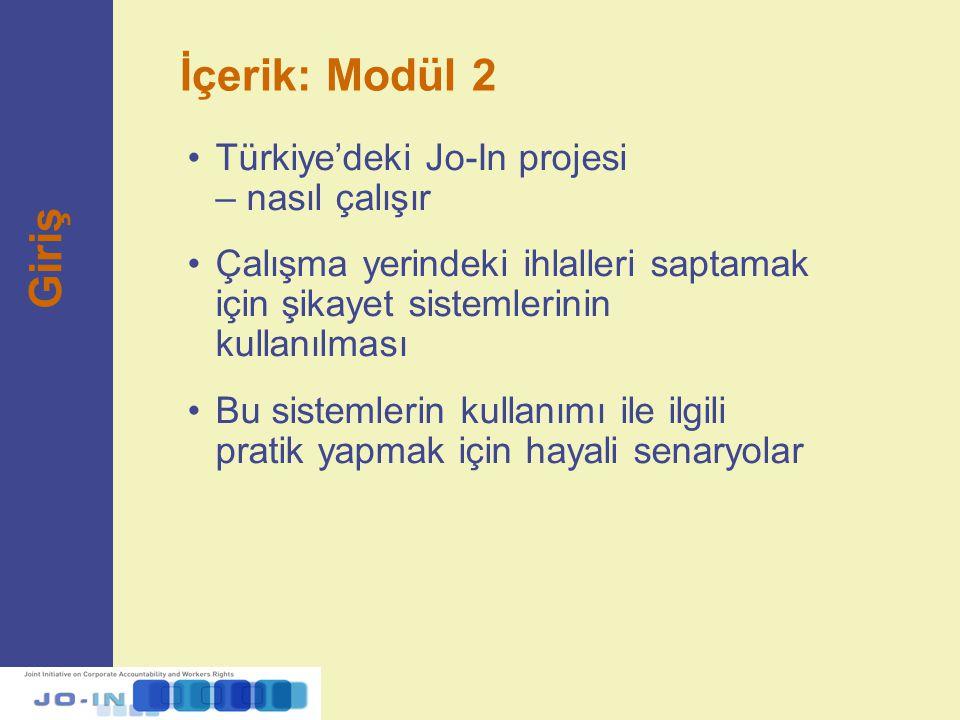 İçerik: Modül 2 Giriş Türkiye'deki Jo-In projesi – nasıl çalışır