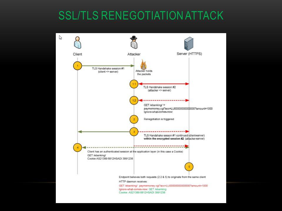 SSL/TLS Renegotiation ATTACK