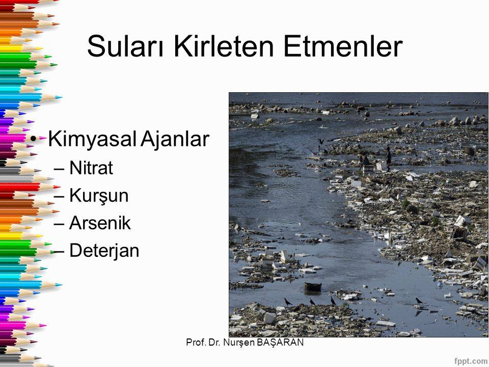 Suları Kirleten Etmenler