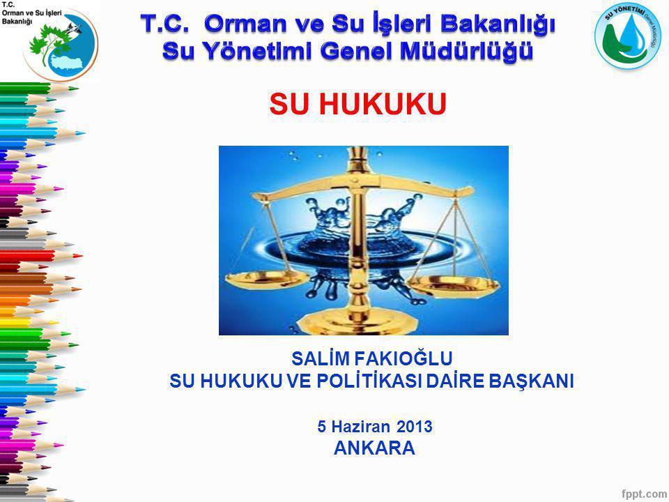 T.C. Orman ve Su İşleri Bakanlığı Su Yönetimi Genel Müdürlüğü