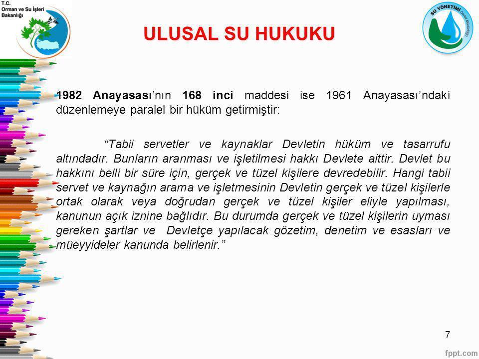 ULUSAL SU HUKUKU