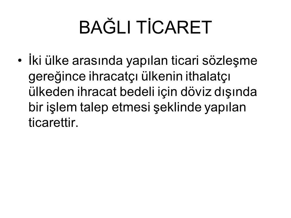 BAĞLI TİCARET