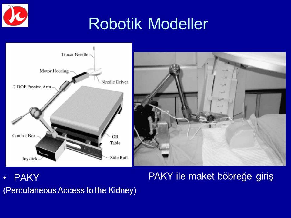 Robotik Modeller PAKY PAKY ile maket böbreğe giriş