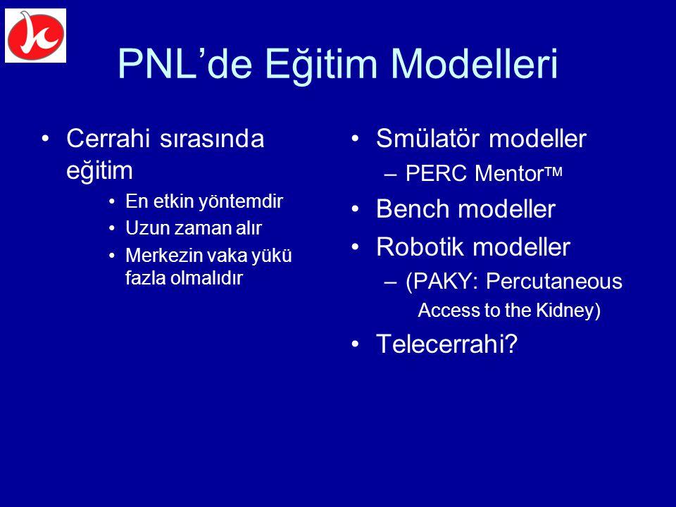 PNL'de Eğitim Modelleri