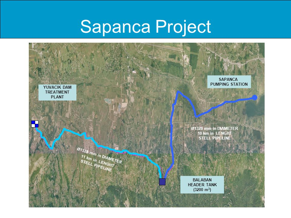 Sapanca Project SAPANCA PUMPING STATION YUVACIK DAM TREATMENT PLANT