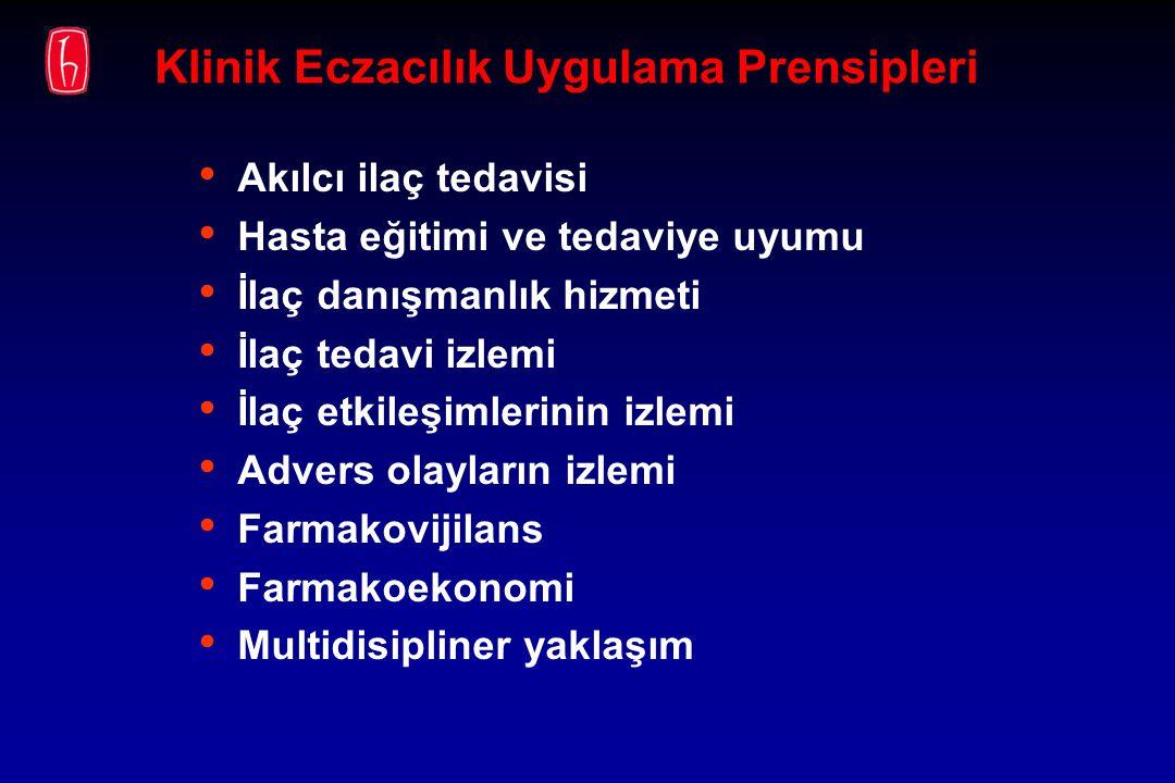 Klinik Eczacılık Uygulama Prensipleri