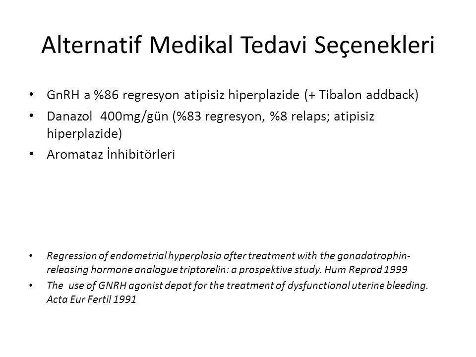 Alternatif Medikal Tedavi Seçenekleri