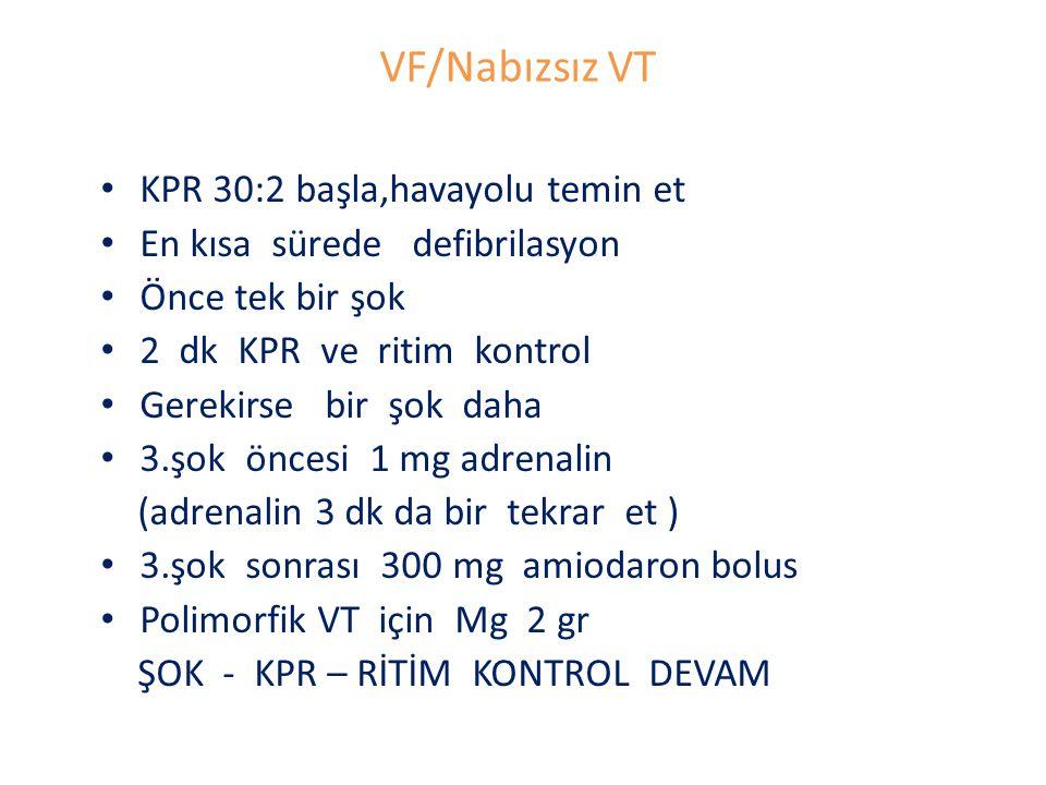 VF/Nabızsız VT KPR 30:2 başla,havayolu temin et