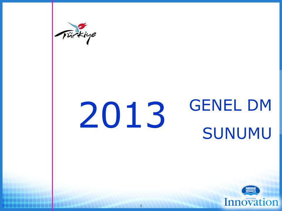 2013 GENEL DM SUNUMU