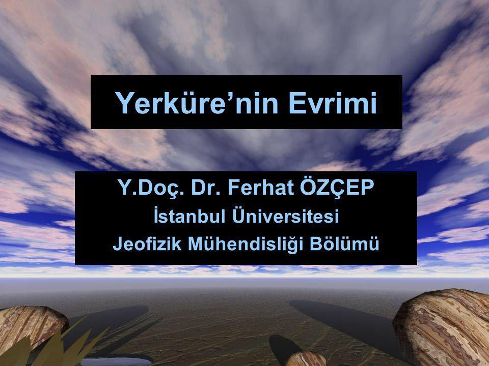 İstanbul Üniversitesi Jeofizik Mühendisliği Bölümü