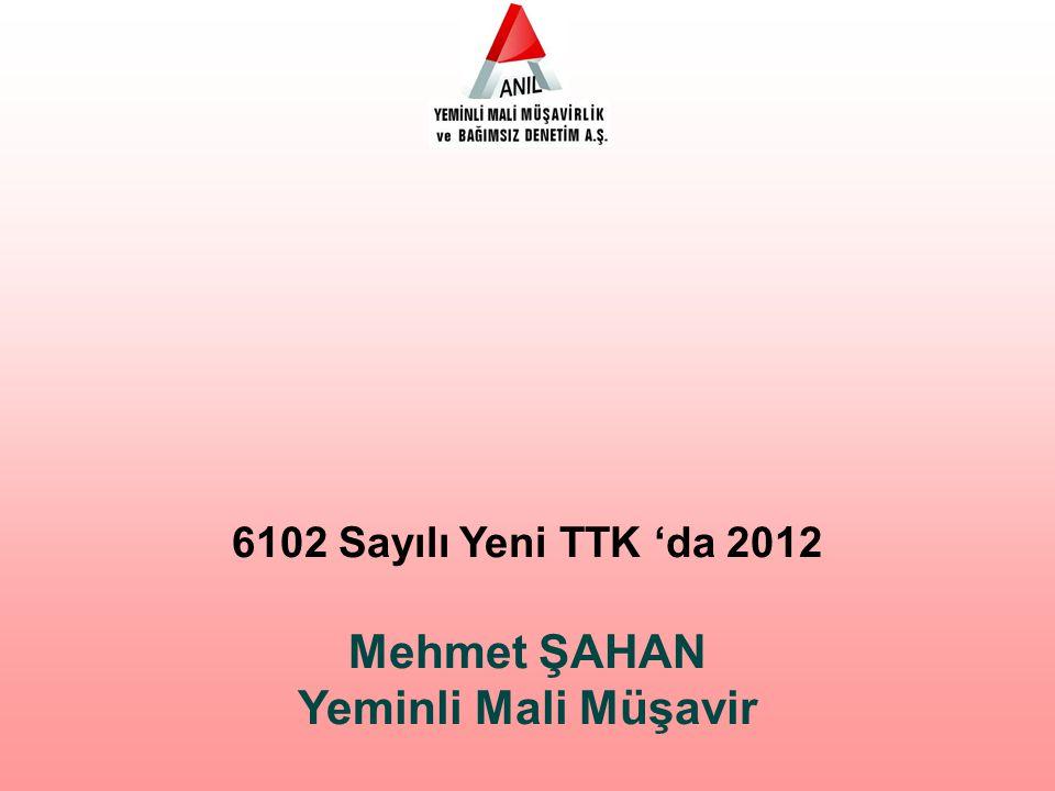 Mehmet ŞAHAN Yeminli Mali Müşavir