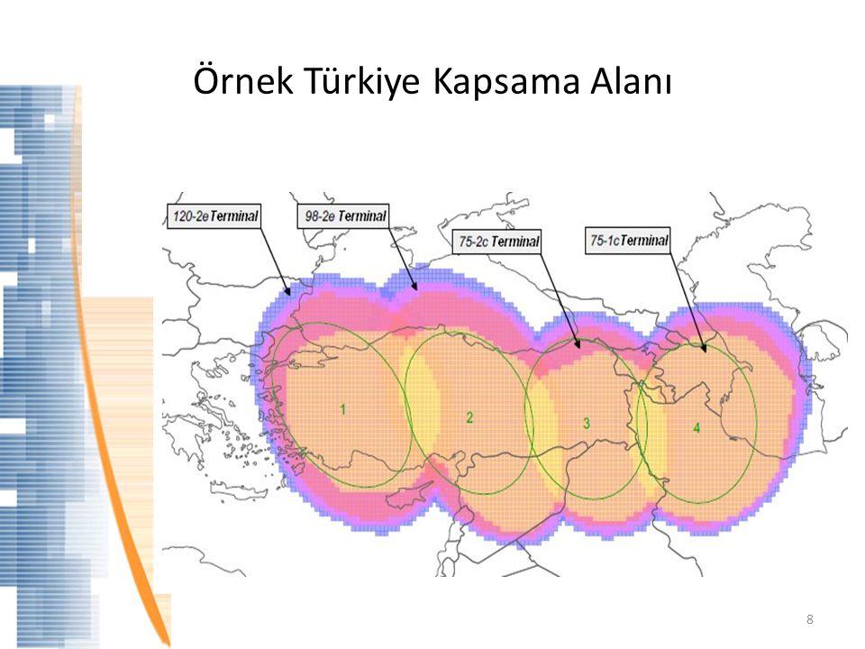 Örnek Türkiye Kapsama Alanı